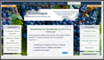 BibleGrapes Preview